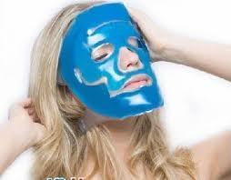 Gel ansigtsmaske mod stress og hovedpine ( KAN GENBRUGES)