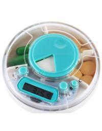 Lille tablet box med alarm indstillinger