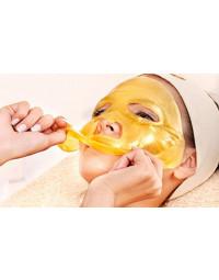 Ansigtsmaske - Guld 2, 5 el. 10 stk