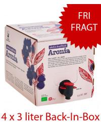 4 x Ekstra kraftfuld Aronia (Bag-in-box)