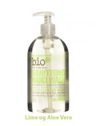 BIO-D - Antibakteriel Håndsæbe - Lime og Aloe Vera - 500 ml