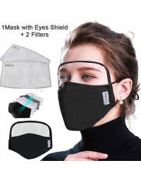 5 lag Pm2.5 filter bomuld ansigtsmasker