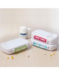 Vandtæt tablet box med 6 rum