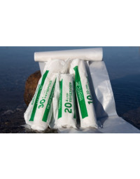 Maistic 4L frysepose, komposterbar, 20 stk i rulle