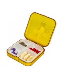 Lille tablet æske med 4 rum