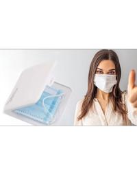 Sundhedsfremmende antibakteriel æske til mundbind